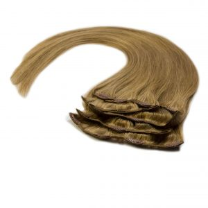 Zestaw do samodzielnego przedłużania włosów Clip-on gęste doczepki