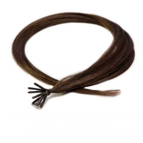 pasemka pod mikroring - włos naturalny