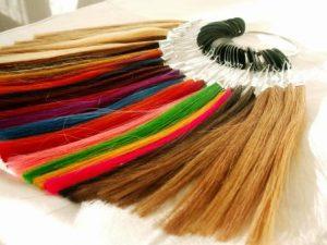 wzornik kolorów włosów przedłużanych
